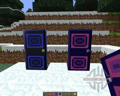 Mystery Doors [1.6.4] для Minecraft