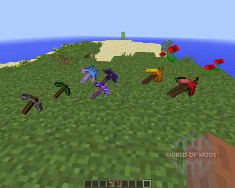 More Pickaxes [1.8] для Minecraft