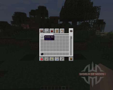 Obsidian Boat [1.7.2] для Minecraft