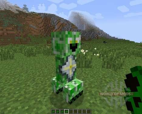 Creeper Species [1.7.2] для Minecraft