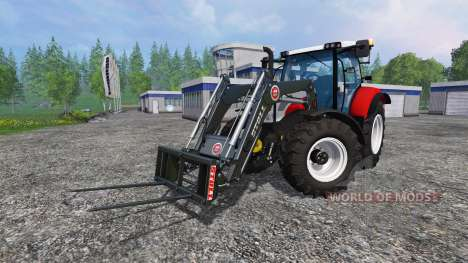 Steyr Profi 4130 CVT v1.1 fix для Farming Simulator 2015