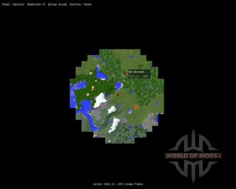 MapWriter [1.8] для Minecraft