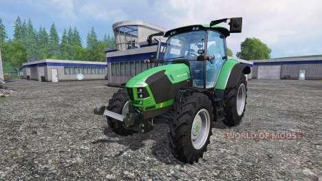 Deutz-Fahr 5110 TTV v1.2.1 для Farming Simulator 2015