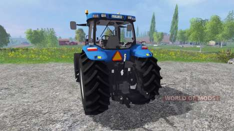 New Holland T8.020 v4.0 для Farming Simulator 2015