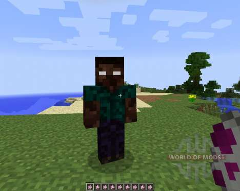 More Herobrines [1.7.2] для Minecraft