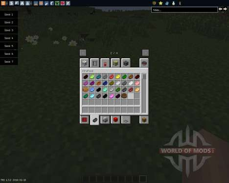 XtraBlocks [1.7.2] для Minecraft
