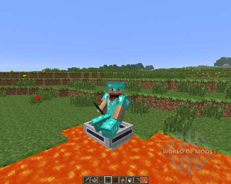 LavaBoat [1.6.4] для Minecraft