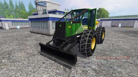 John Deere 548H для Farming Simulator 2015