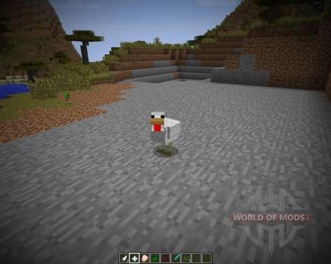 Morphing [1.7.2] для Minecraft
