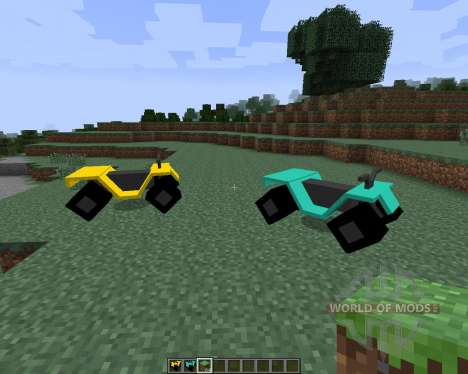 All-terrain Vehicle (ATV) [1.7.2] для Minecraft