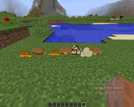 Birds Foods [1.8] для Minecraft