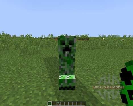 NoCreeperExplosions [1.8] для Minecraft