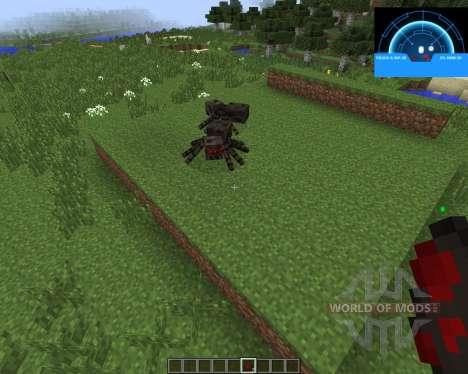 Aliens Motion Tracker [1.7.2] для Minecraft