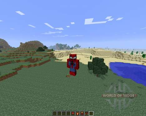 Superheroes Unlimited [1.6.4] для Minecraft