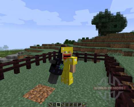 Weapons [1.7.2] для Minecraft
