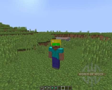Night Vision Mining Hats [1.8] для Minecraft