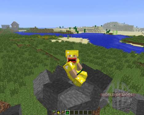 Block Monsters Pet [1.6.4] для Minecraft
