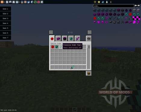More Enderpearls [1.6.4] для Minecraft