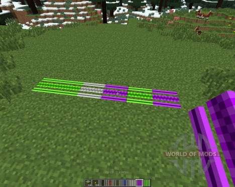 Expanded Rails [1.6.4] для Minecraft