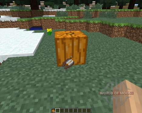 Pumpkin Carvier [1.6.4] для Minecraft