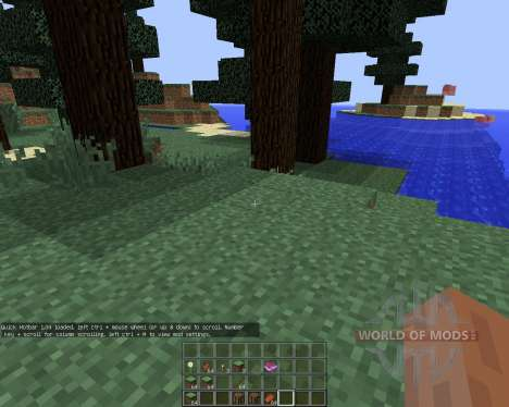 Quick Hotbar для Minecraft