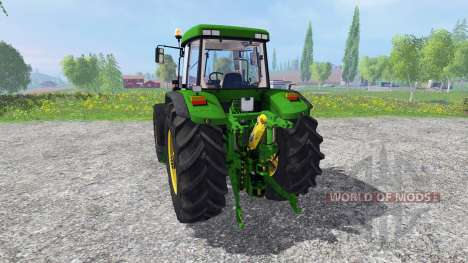 John Deere 7810 FW real turbine sound v1.1 для Farming Simulator 2015