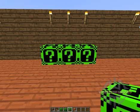 Lucky Block Dark Neon [1.7.10] для Minecraft