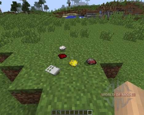 Item Drop Physics [1.7.2] для Minecraft