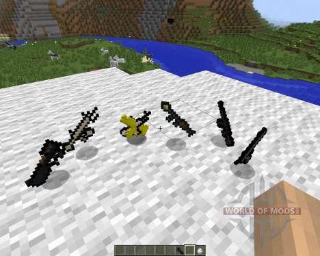 3D Gun [1.7.2] для Minecraft