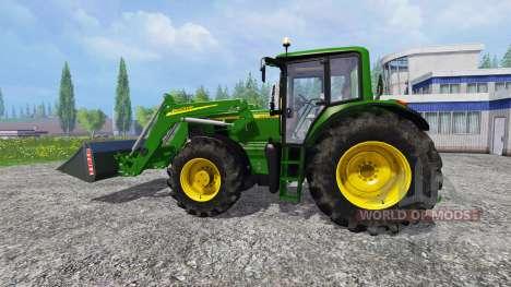 John Deere 6930 Premium FL для Farming Simulator 2015