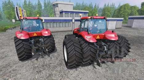 Case IH Magnum CVX 380 twin pack shader v1.2b для Farming Simulator 2015