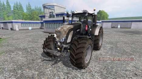 Fendt 936 Vario Black Full v8.0 для Farming Simulator 2015