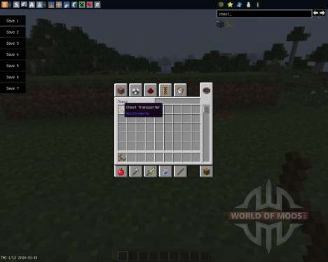 Chest Transporter [1.7.2] для Minecraft
