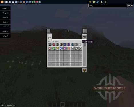 Wall Painter [1.7.2] для Minecraft