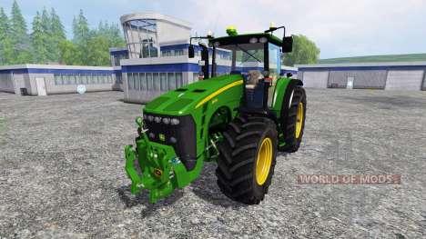 John Deere 8530 v3.0 для Farming Simulator 2015