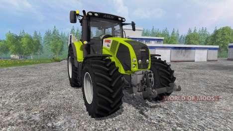 CLAAS Axion 850 v3.0 для Farming Simulator 2015
