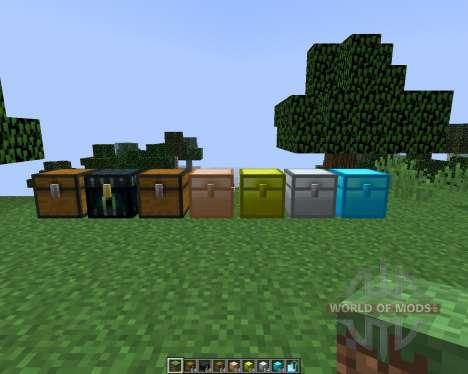 Iron Chests [1.8] для Minecraft