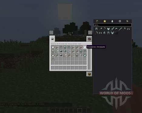 Quartz and Prismarine ArmorTools для Minecraft