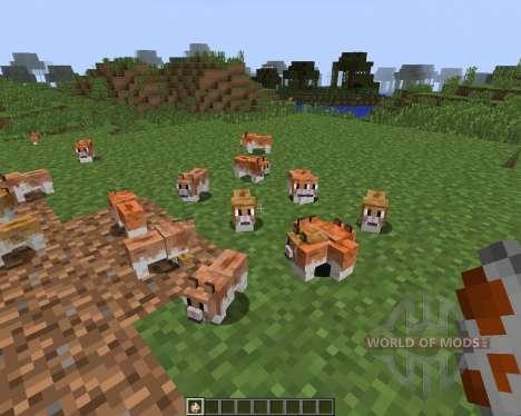 Invincible Hamster [1.7.2] для Minecraft