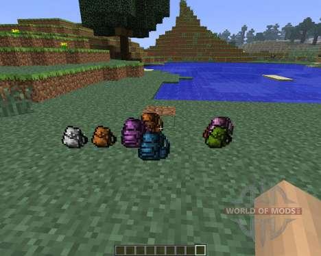 Backpacks [1.6.4] для Minecraft