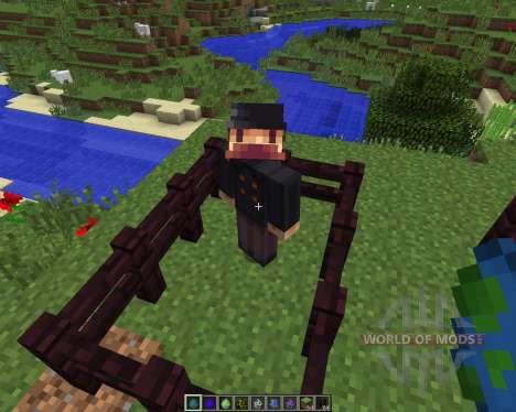 Herobrine [1.7.2] для Minecraft