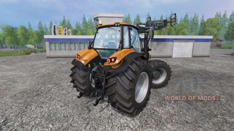 Deutz-Fahr Agrotron 7250 Forest King v2.0 orange для Farming Simulator 2015