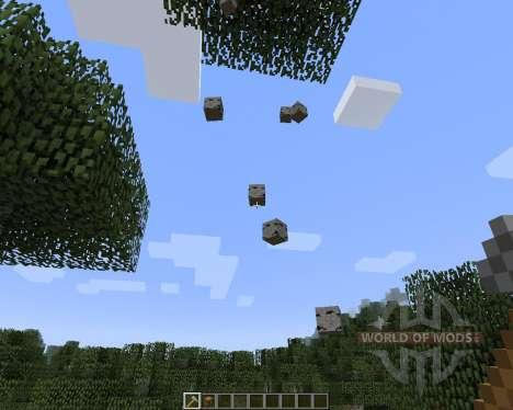Whole Tree Axe [1.7.2] для Minecraft