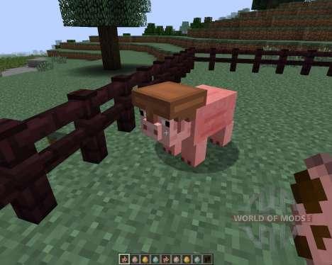 Pig Companion [1.7.2] для Minecraft