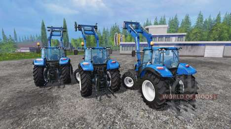 New Holland T5 [pack] для Farming Simulator 2015