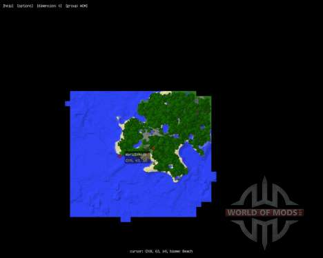 MapWriter [1.5.2] для Minecraft