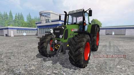 Fendt 820 Vario TMS для Farming Simulator 2015