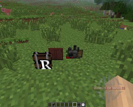 Rails of War Mod [1.6.4] для Minecraft