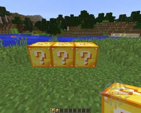 Lucky Block [1.8] для Minecraft