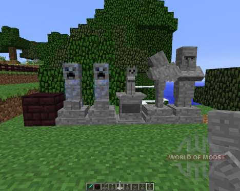 Gravestone [1.5.2] для Minecraft